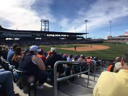 Sloan Park Section 119 Home Of Chicago Cubs Mesa Solar Sox