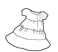 Wedding Dress Coloring Pages Wedding Dress Coloring Pages Trend