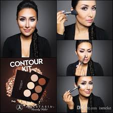 2016 anastasia contour kit light to um tan contour kit palette makeup face powder foundation anastasia bronzers highlighters bronzer for dark skin
