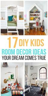 17 diy kids room decor ideas your