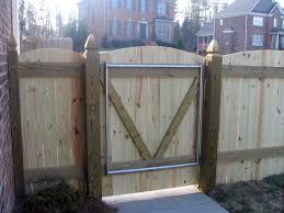 backyard wooden gate designs