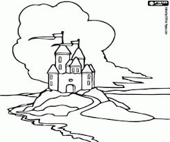 Disegni Di Castelli Da Colorare E Stampare