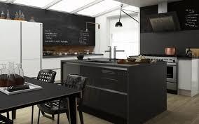 modern kitchen ideas. Modern Monochrome Wren Living Kitchen Ideas
