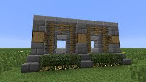 Interior Wall Design Minecraft Wall Design