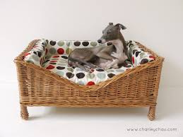 wicker dog bed. Contemporary Bed Photo Blog The Boys U0026 Our Updated Raised Wicker Dog Bed On L