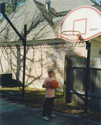 pro dunk hoops. One Of The First Pro Dunk Basketball Goals Hoops O