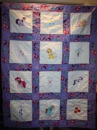 My Little Pony Machine Embroidered Lap Quilt Purple & Like this item? Adamdwight.com