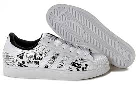 adidas shoes white and black. adidas women superstar white men shoes graffiti and black