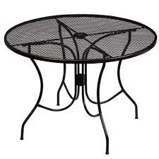 round metal patio furniture aweinspiring metal patio tables square round outdoor patio table to