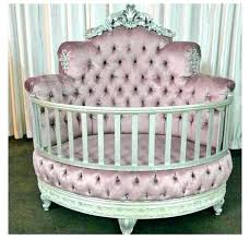 home accessory crib baby princess tufted crystal newborn girl pink bed bedding nursery