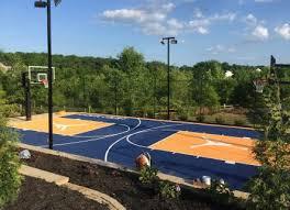 basketball vinyl tile system tennis court surfaces