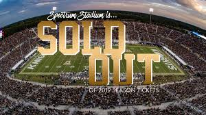 Ucf Knights 2019 Football Season Tickets Sold Out Dr