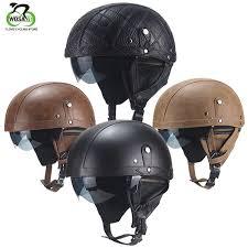<b>WOSAWE Road Bike Bicycle</b> Helmet Retro Personality Helmet Half ...