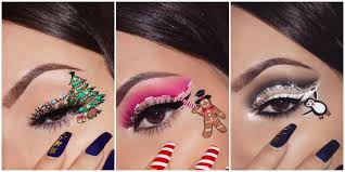 these festive makeup looks are the most magical thing you ll see this christmas christmas eye makeup