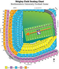 Illinois Seating Chart Football Updated Wrigley Field Diagram And Seating Chart
