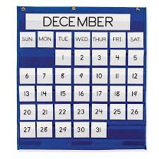 Where To Buy Pocket Charts Pacon Monthly Calendar Pocket Chart Pacon Creative Products