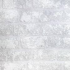 Overschilderbaar Behang 3d Baksteen Effect Luxe Textuur Vinyl