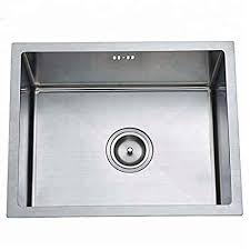Image Faucet Combo Amazonin 10x Luxury Kitchen Sink 12 Mm Thickness 24x18 X9inch silver