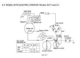i have just purchased a subaru small engine ex210ds50528897 i m assuming electric start does this diagram from the service manual appear any clearer than what you are looking at can you tell me what diagram you are