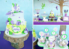 Karas Party Ideas Disney Tinkerbell Fairy Pixie Girl 7th Birthday