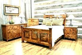 distressed wood bed frame – gokool.co