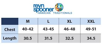 Reyn Spooner Size Chart Reyn Spooner Hawaiian Christmas 2019 Print