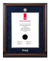 the brock university campus store textbooks course materials  diploma photo frames