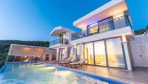 2 Schlafzimmer Villa Mit Infinity Pool In Kalkan Türkei