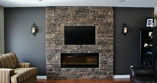 wall fire place
