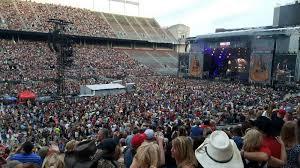 Ohio Stadium Section 15a Row 18 Seat 4 5 Rascal Flatts