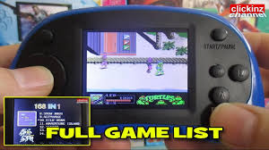 Pvp Station Light 3000 Games List Coolboy Rs 8 Portable Game Console 168 In 1 Full Game List Nes Fc Not Repeated Games Rs8 Unboxing