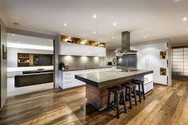 Popular Kitchen Floors Kitchen Cabinets Breakfast Bar Kitchen Island Wood Floor House In