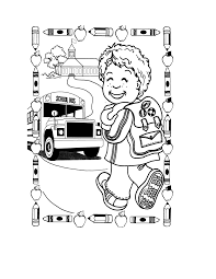 Back To School Coloring Pages Back