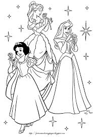 Small Picture Disney Princess Coloring Pages Free Printable Disney Princess
