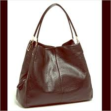 Coach  Large Madison Phoebe  leather shoulder bag