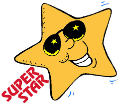 Image result for super star student clipart