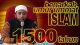 Hasil carian imej untuk Usia dunia xkan sampai 1500 Hijrah