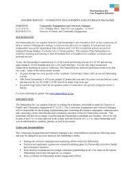 Resume Outreach Coordinator Resume