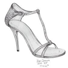 shoes drawing designs. monticello shoe sketches | shoess blog - fashion industry network shoes drawing designs