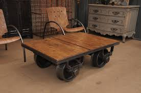 Industrial Factory Cart Coffee Table Industrial Factory Cart Coffee Table For Sale At Pamono