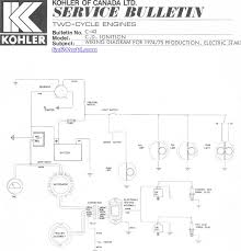 6x6 world kohler engine owners manuals kohler two cycle service bulletin a wiring diagram for 1974 and 1975 production model engines electric start