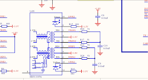 rj 45 magnetics transformer ethernet port connections enter image description here