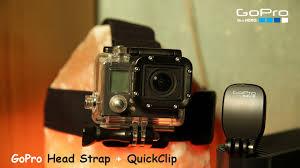 Оригинальное <b>крепление</b> на голову <b>GoPro Head Strap</b> + <b>QuickClip</b> ...