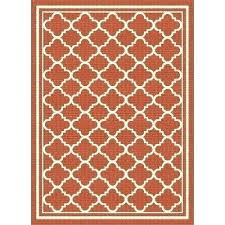 awesome moorish tile rug or tile 8 x large orange tile indoor outdoor rug tile rug