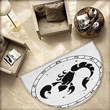 Amazon Com Zodiac Scorpio Semicircular Cushion Circular