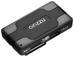 Купить <b>Кардридер Ginzzu GR</b>-<b>417UB</b> по выгодной цене на ...