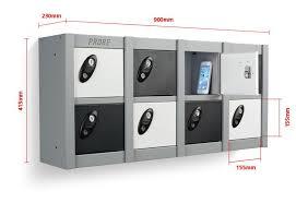 wall mounted lockers eight 8 door minibox stackable locker