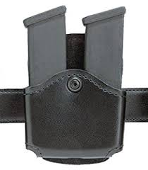 Double Magazine Pouch With Handcuff Holder Amazon Safariland 100 Double Magazine OpenTop Paddle 82