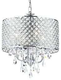 excellent drum shade crystal chandelier silver mist crystal drum shade chandelier lighting fascinating drum shade crystal chandelier