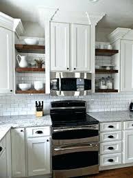 Corner Shelves For Kitchen Cabinets Open Corner Shelves Kitchen Lamdepda 43